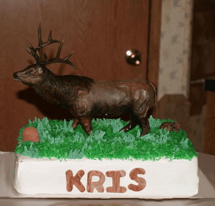 Exquisite Elk Cake