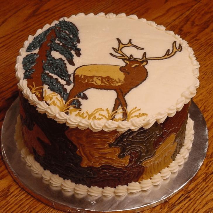 Fascinating Elk Cake
