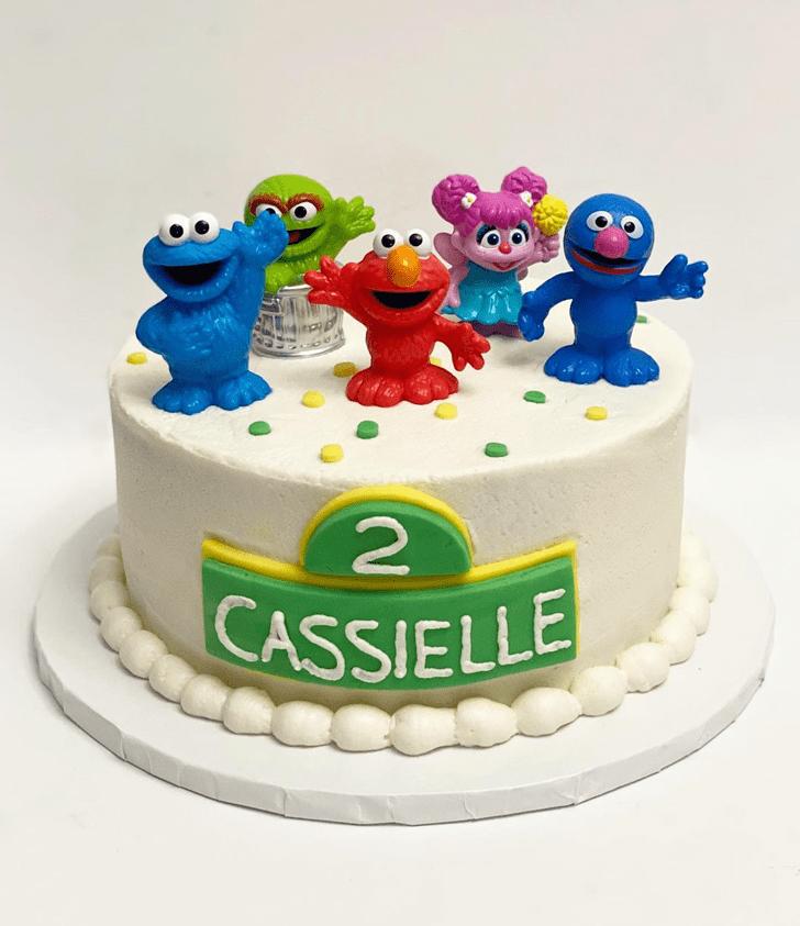 Divine Elmo Cake