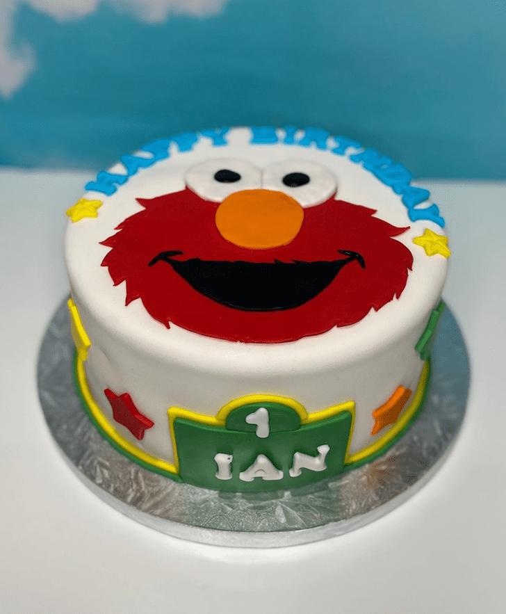 Exquisite Elmo Cake