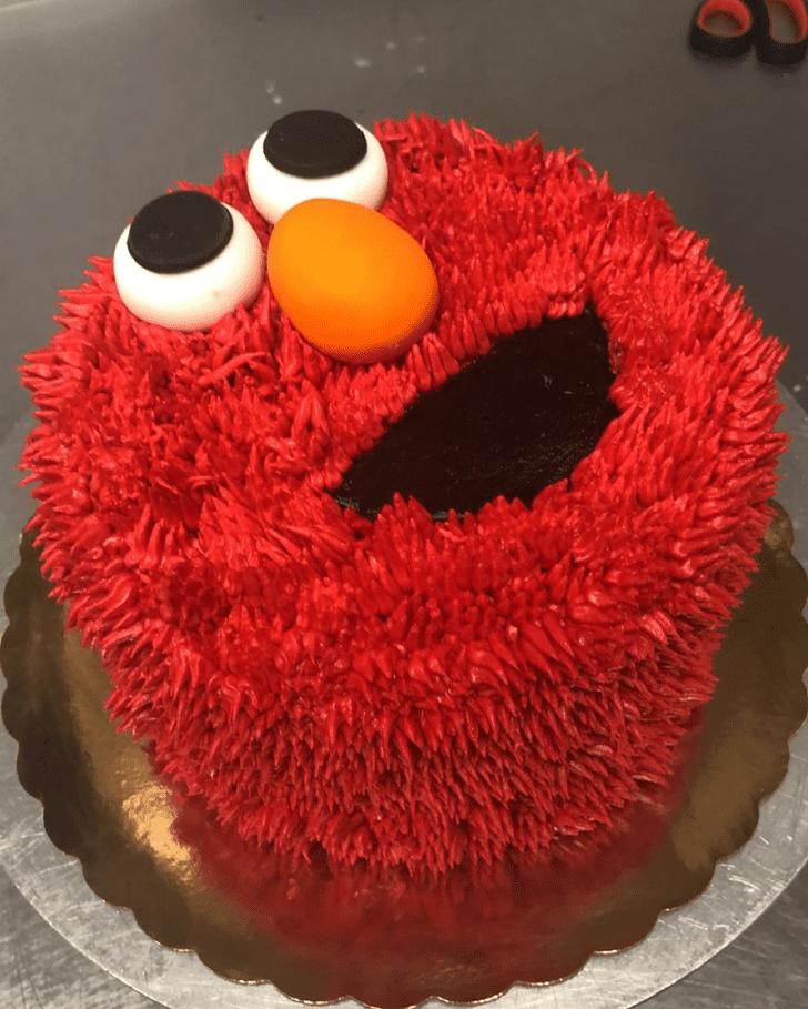 Fair Elmo Cake