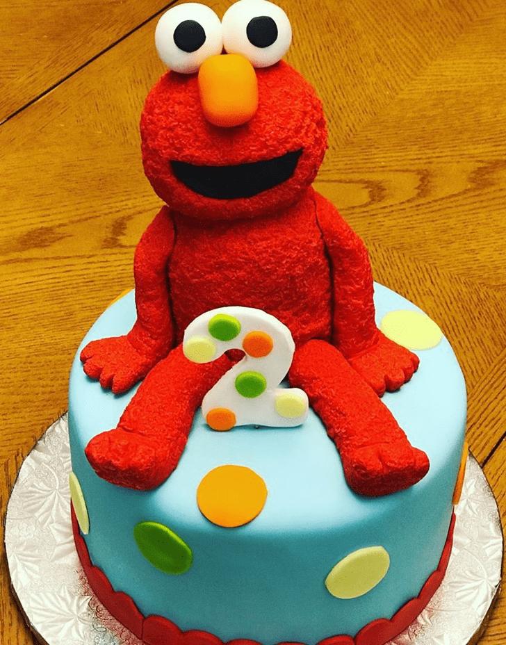 Pretty Elmo Cake