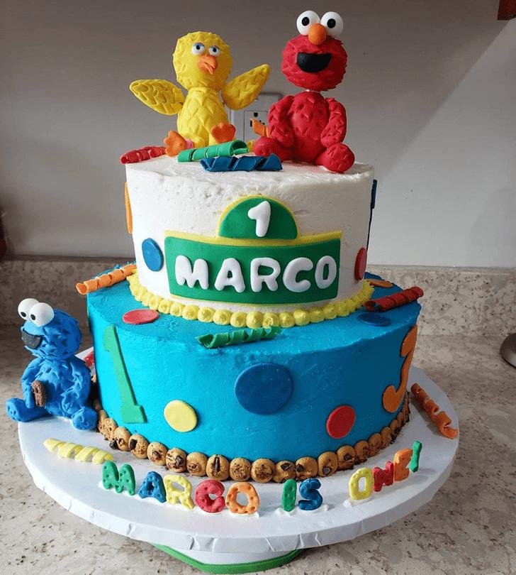 Ravishing Elmo Cake