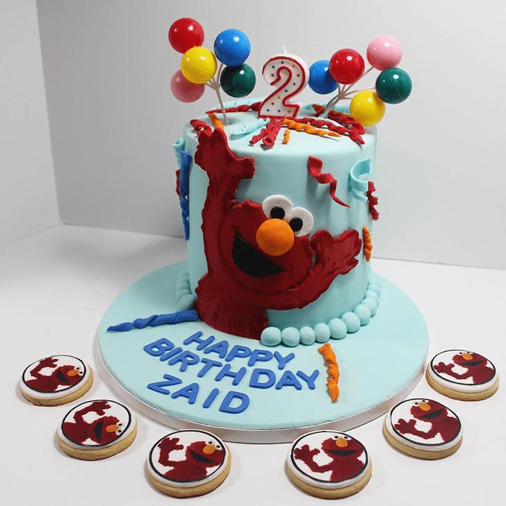 Refined Elmo Cake