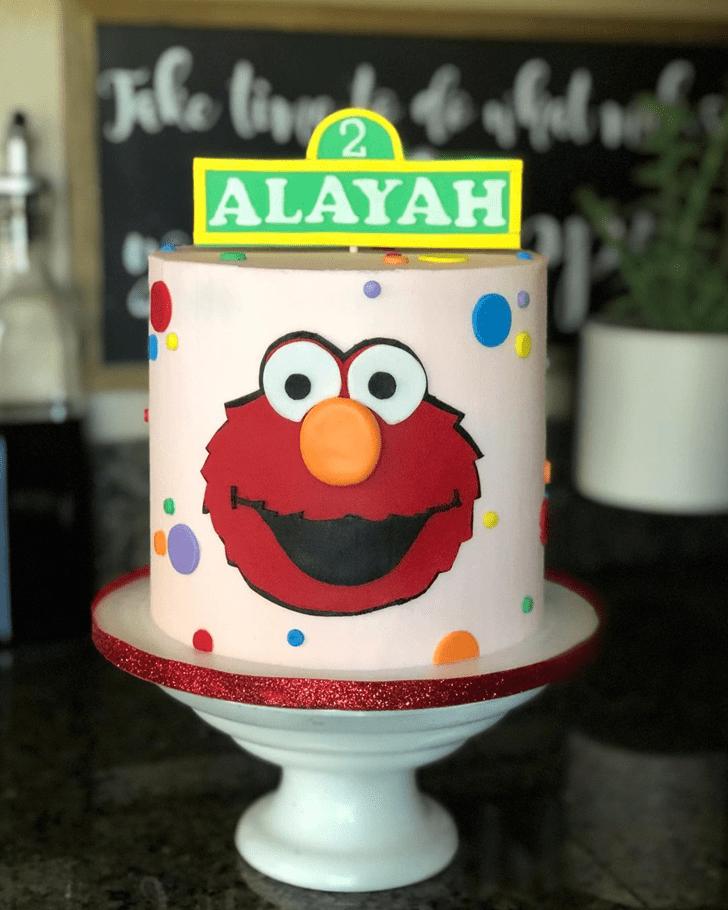 Splendid Elmo Cake