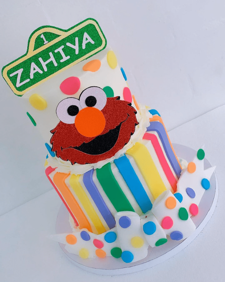 Stunning Elmo Cake