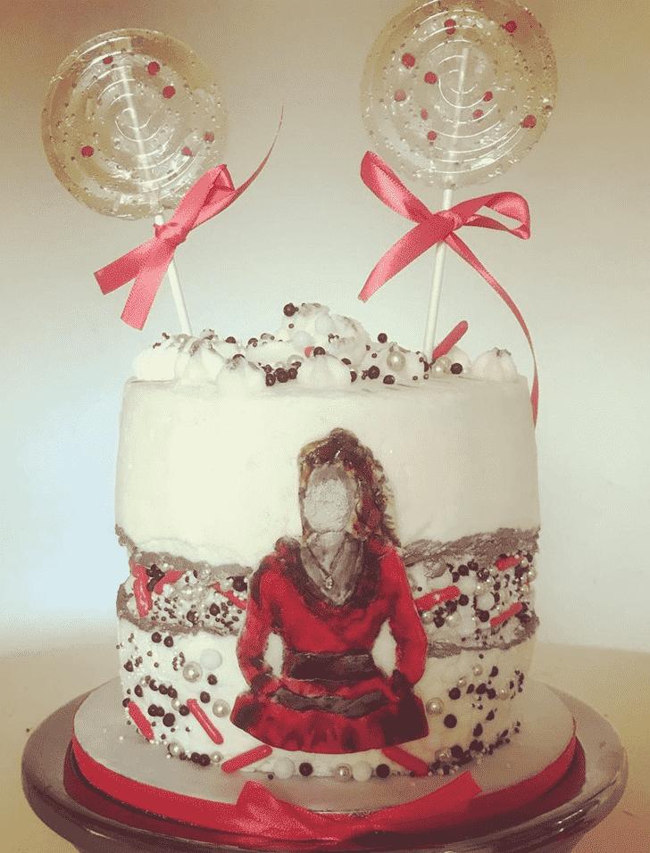 Adorable Enola Holmes Cake