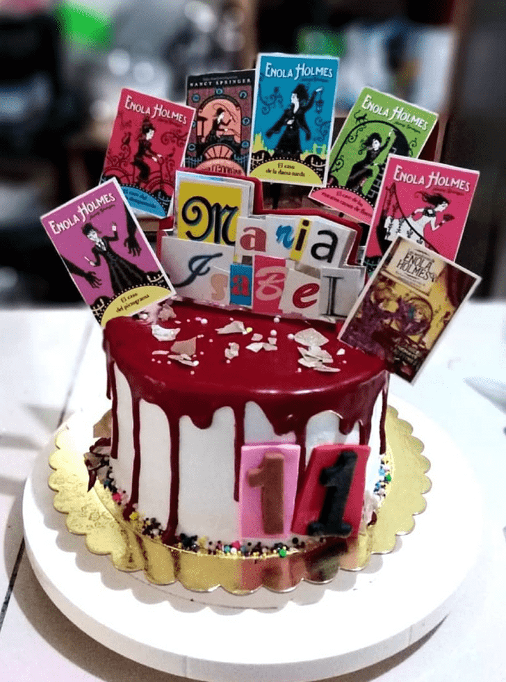 Appealing Enola Holmes Cake