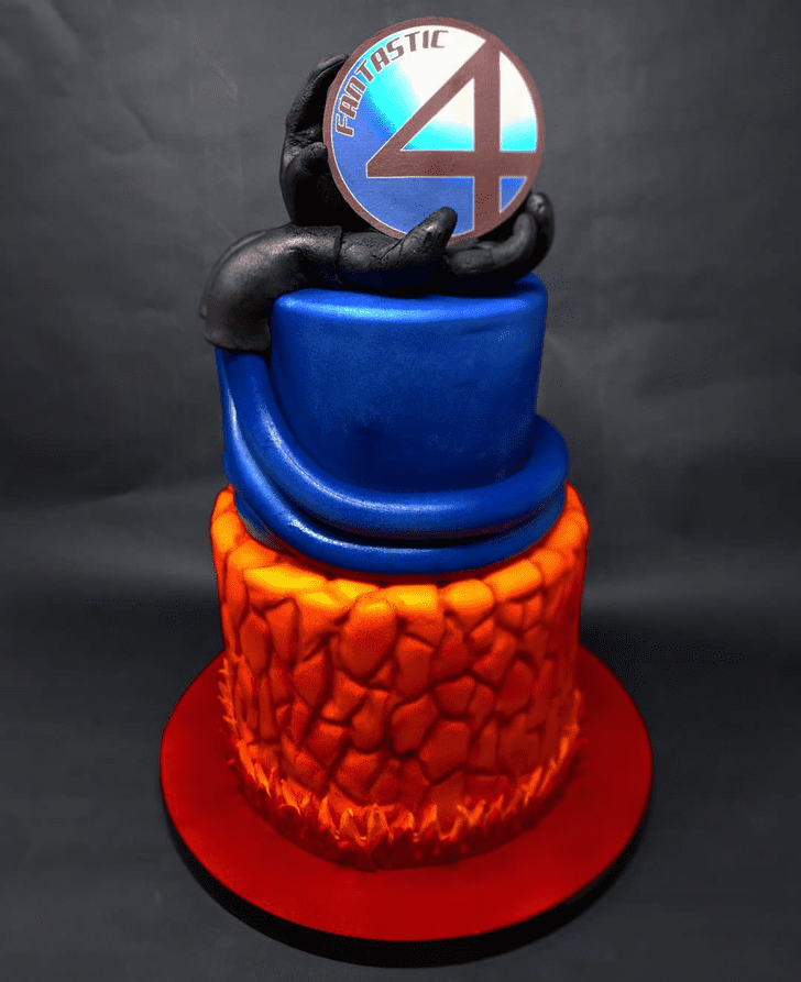 Classy Fantastic Four Cake