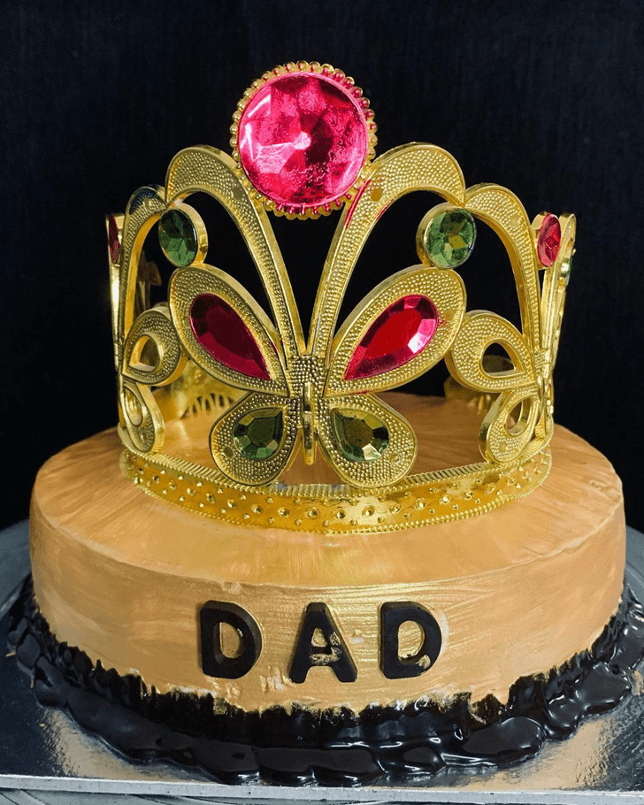 Alluring Father Cake