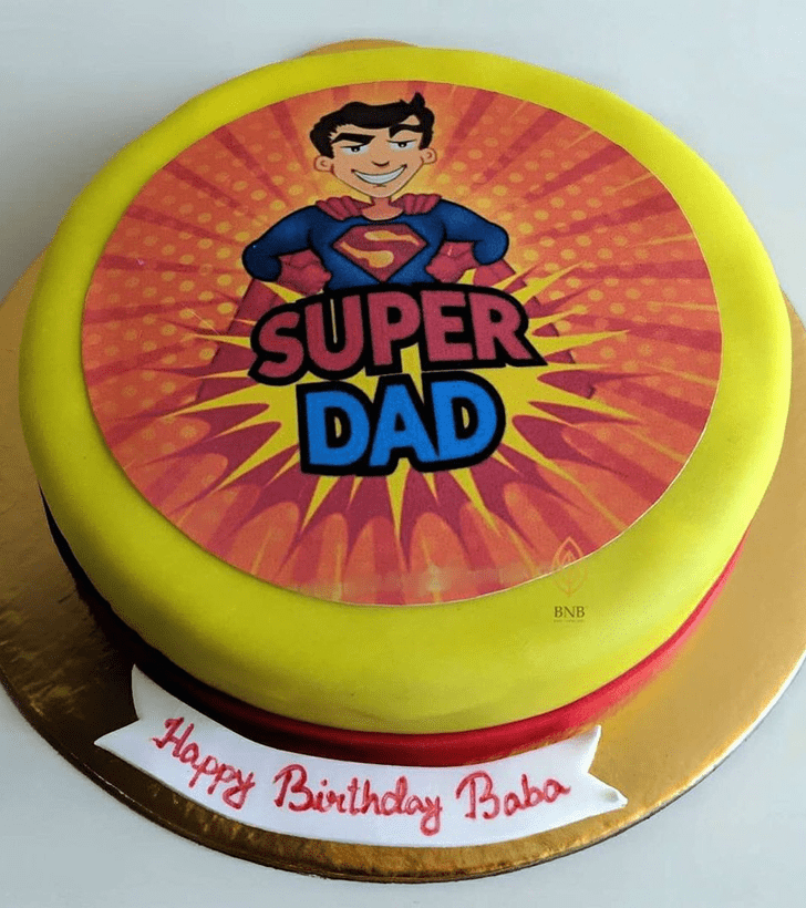 Charming Father Cake