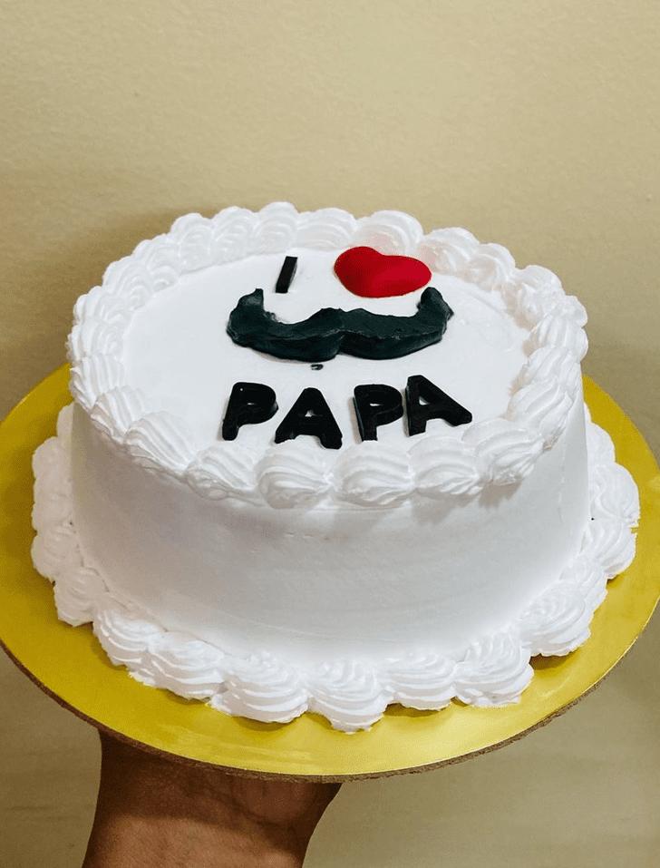 Classy Father Cake