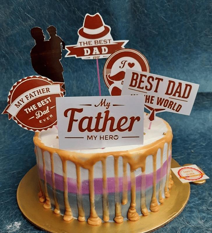 Cute Father Cake