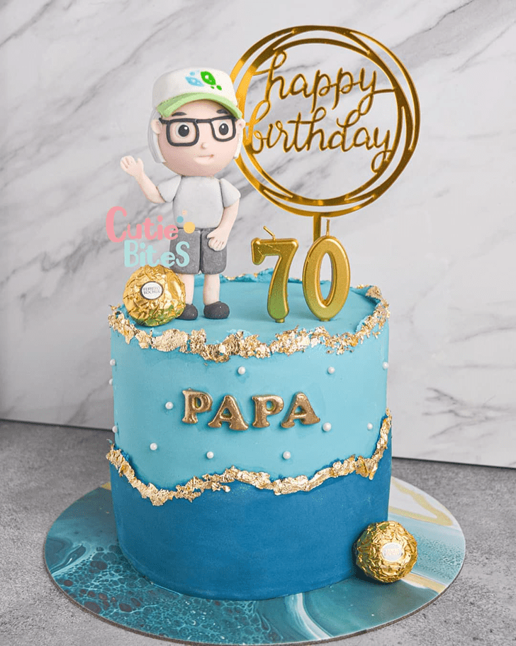 Excellent Father Cake