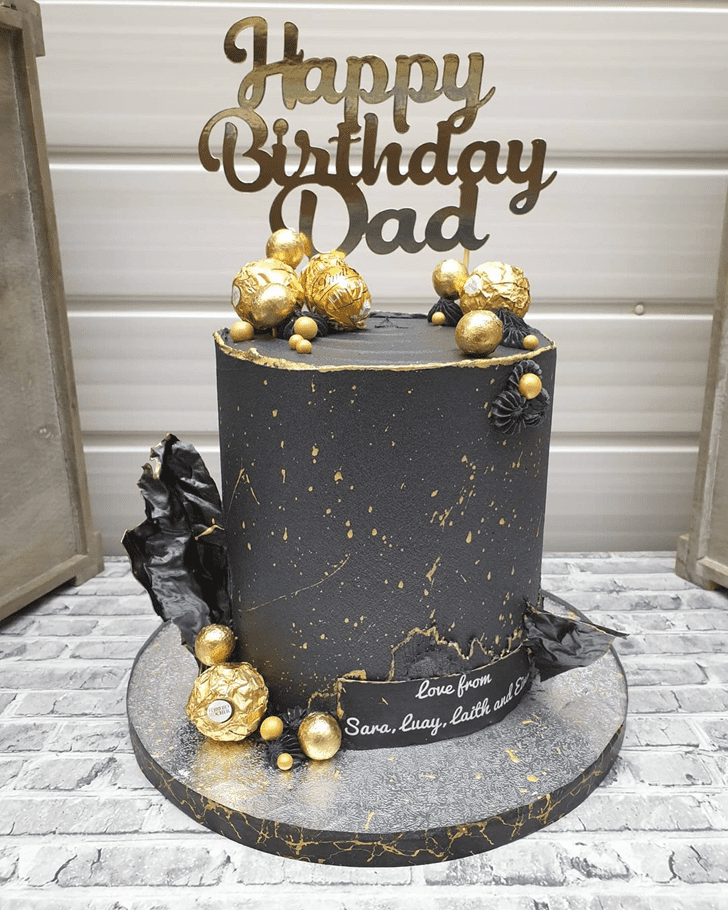Good Looking Father Cake