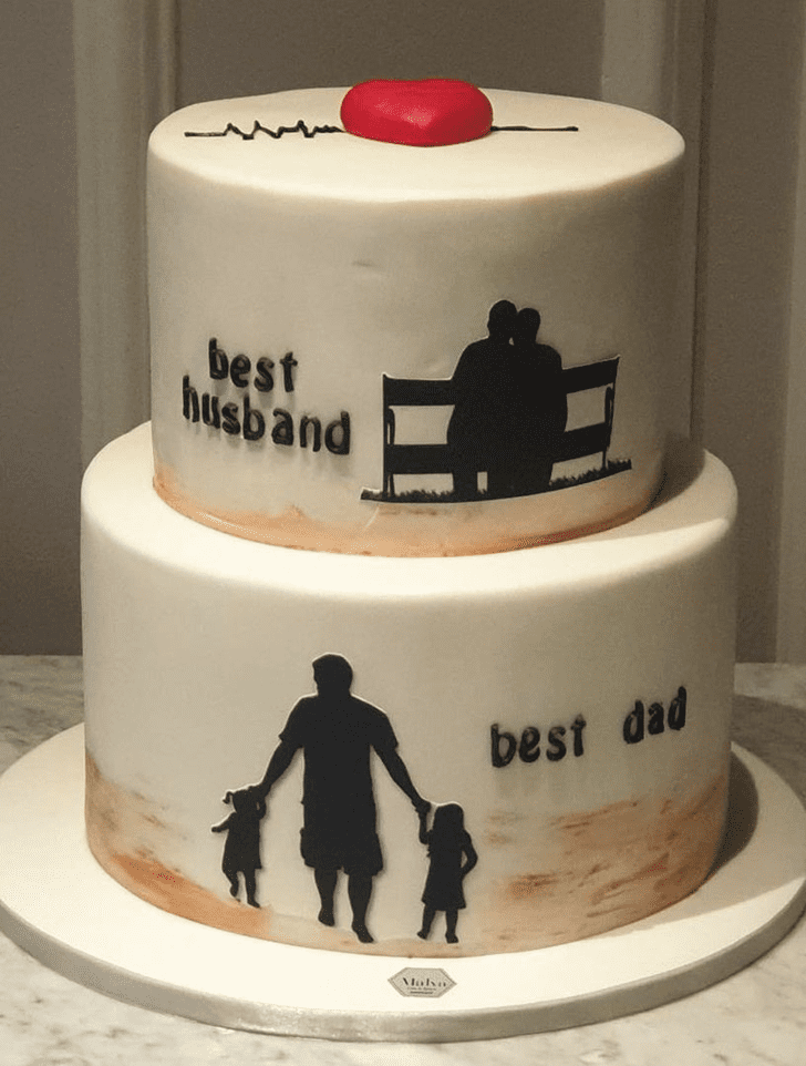 Handsome Father Cake