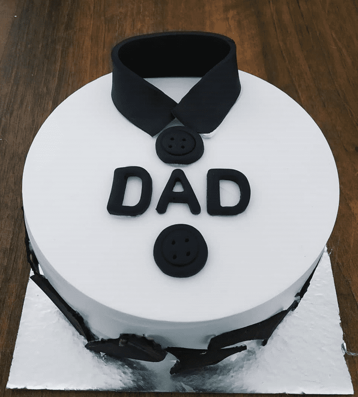 Lovely Father Cake Design