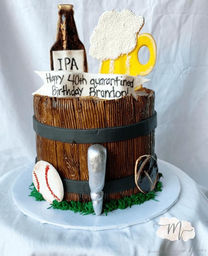 Nice Father Cake
