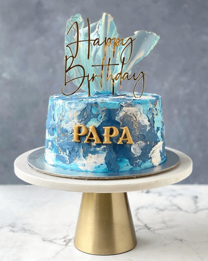 Pretty Father Cake