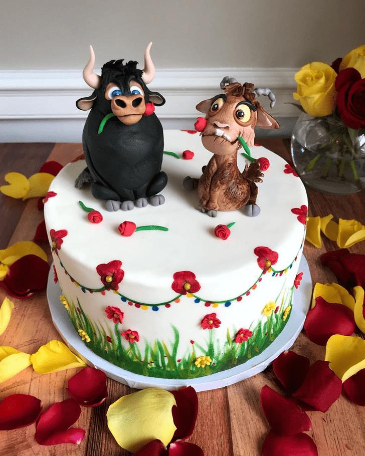 Shapely Ferdinand Cake