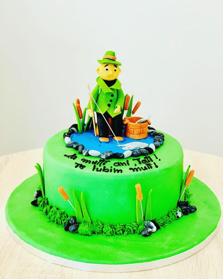 Adorable Fishing Cake