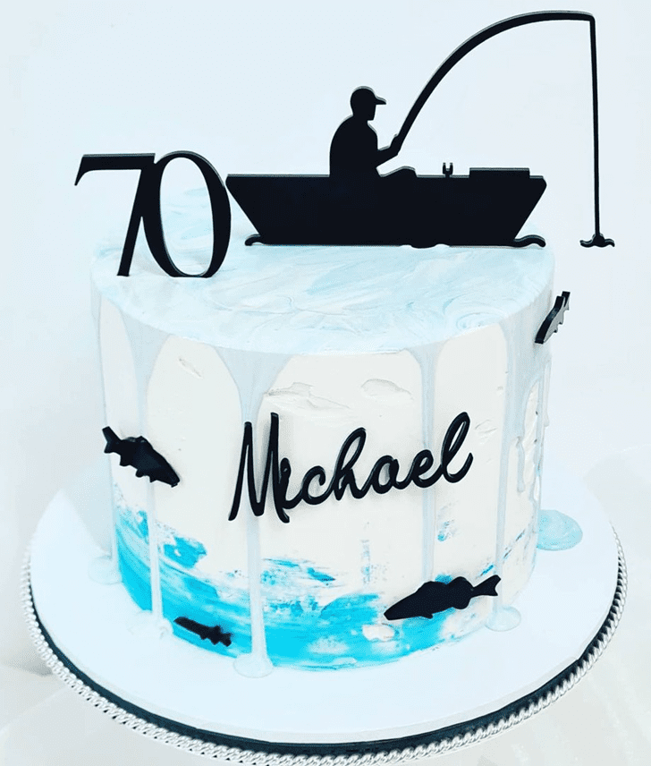 AnFishingic Fishing Cake