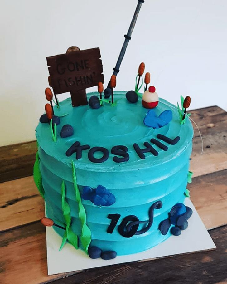 Beauteous Fishing Cake