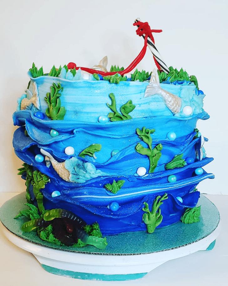 Bewitching Fishing Cake