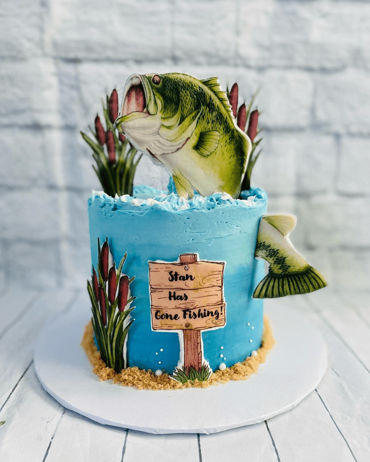 Classy Fishing Cake