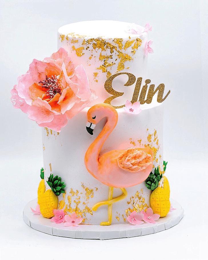 Divine Flamingo Cake