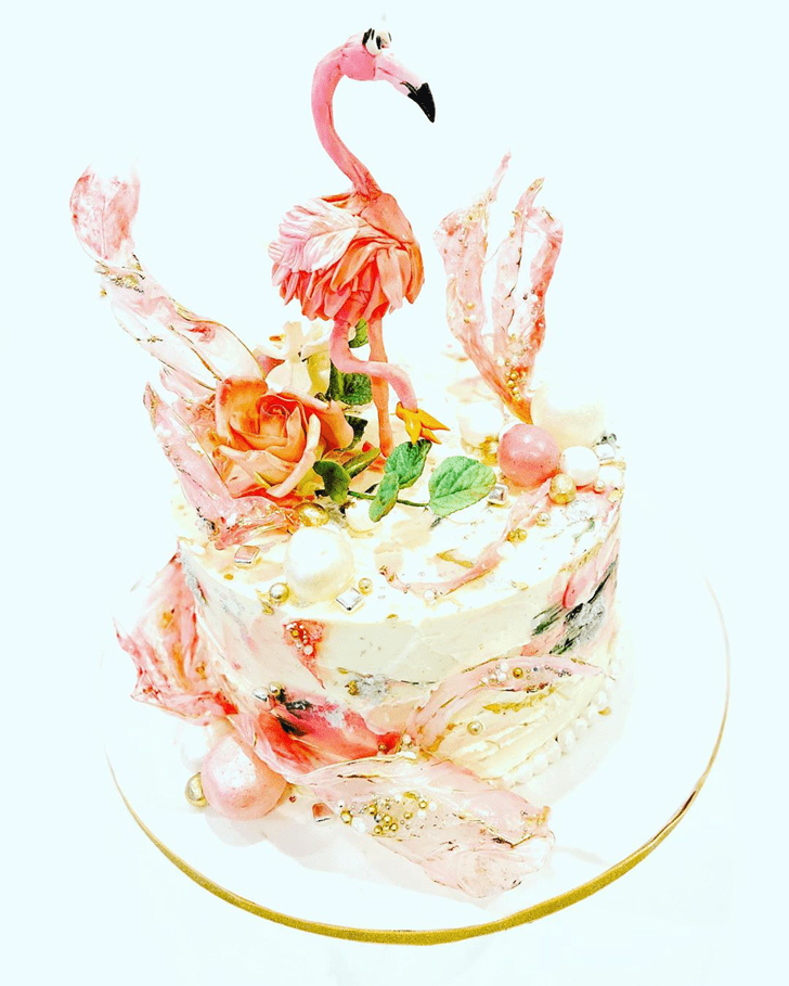 Ideal Flamingo Cake