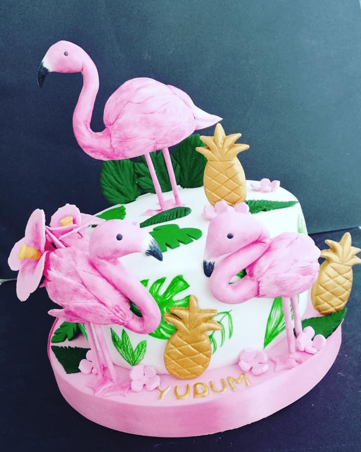 Marvelous Flamingo Cake