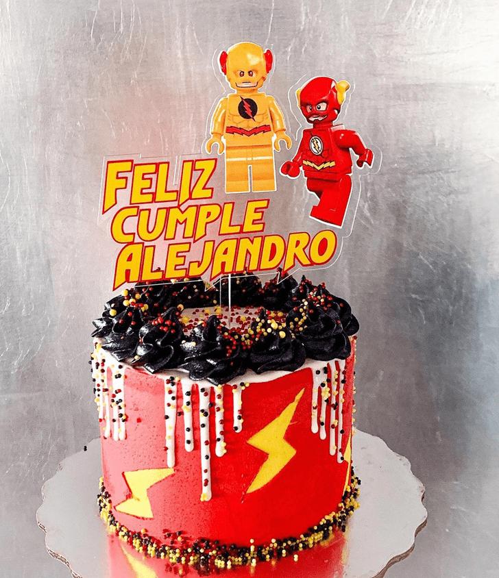 Angelic The Flash Cake