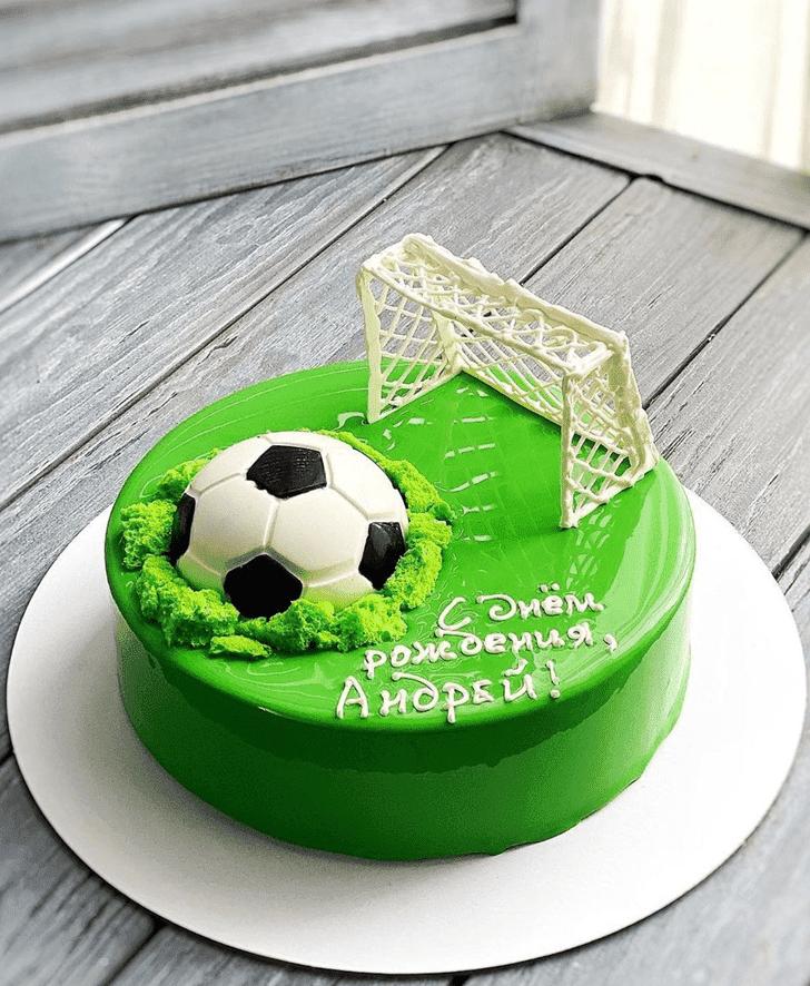 Admirable Football Cake Design