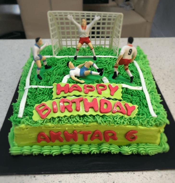 Classy Football Cake