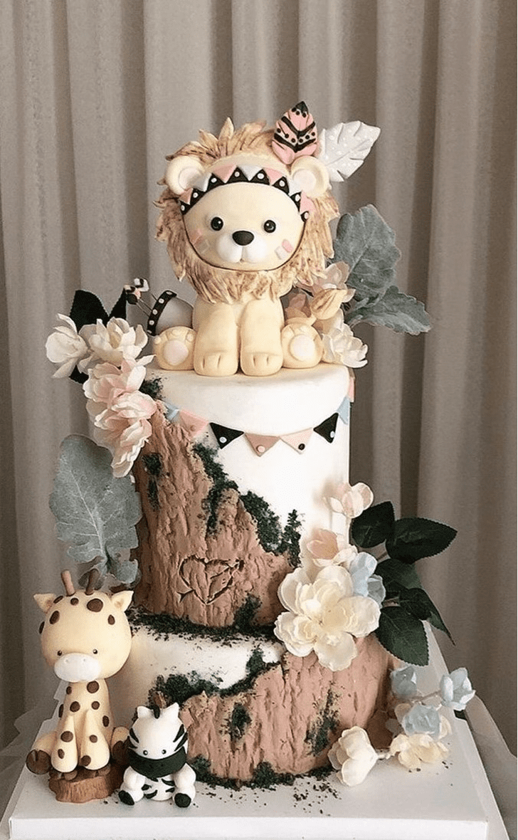 Admirable Forest Cake Design