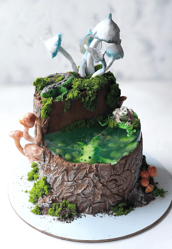 Adorable Forest Cake