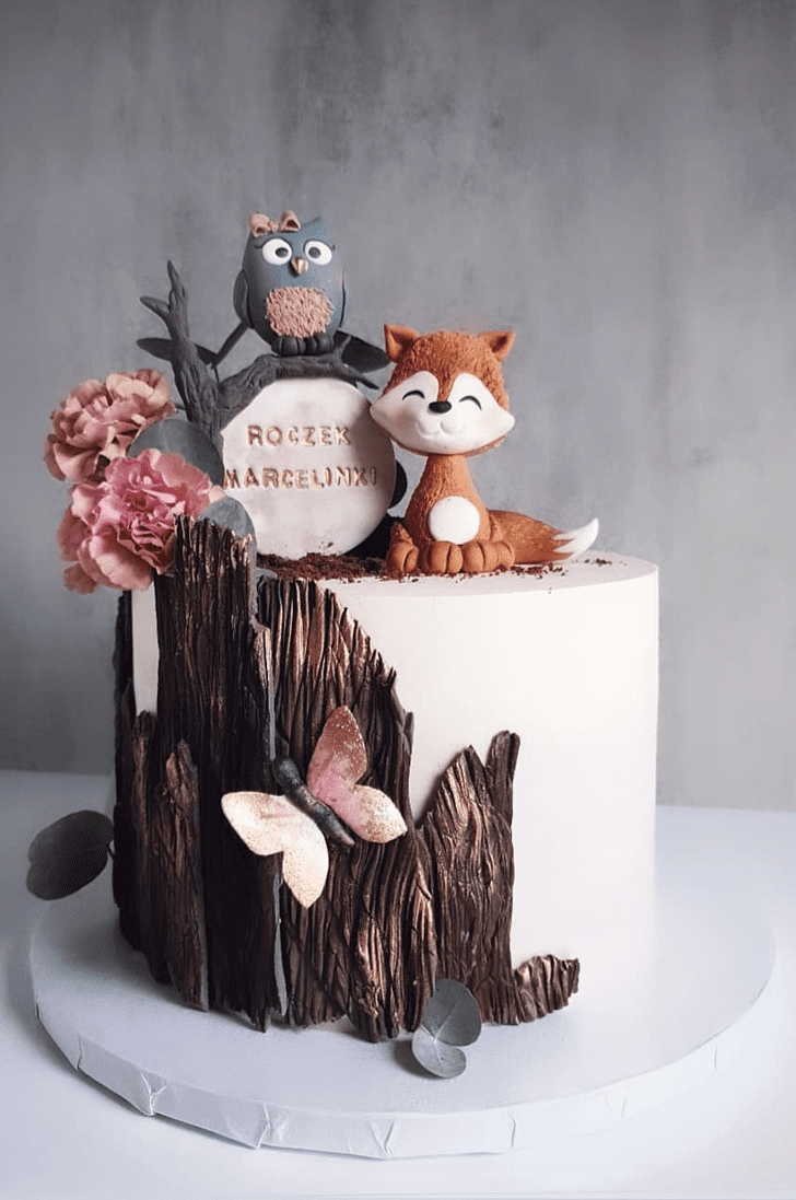 Alluring Forest Cake