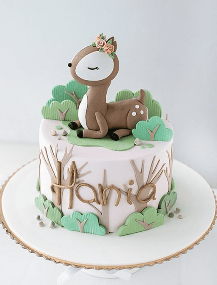 Appealing Forest Cake