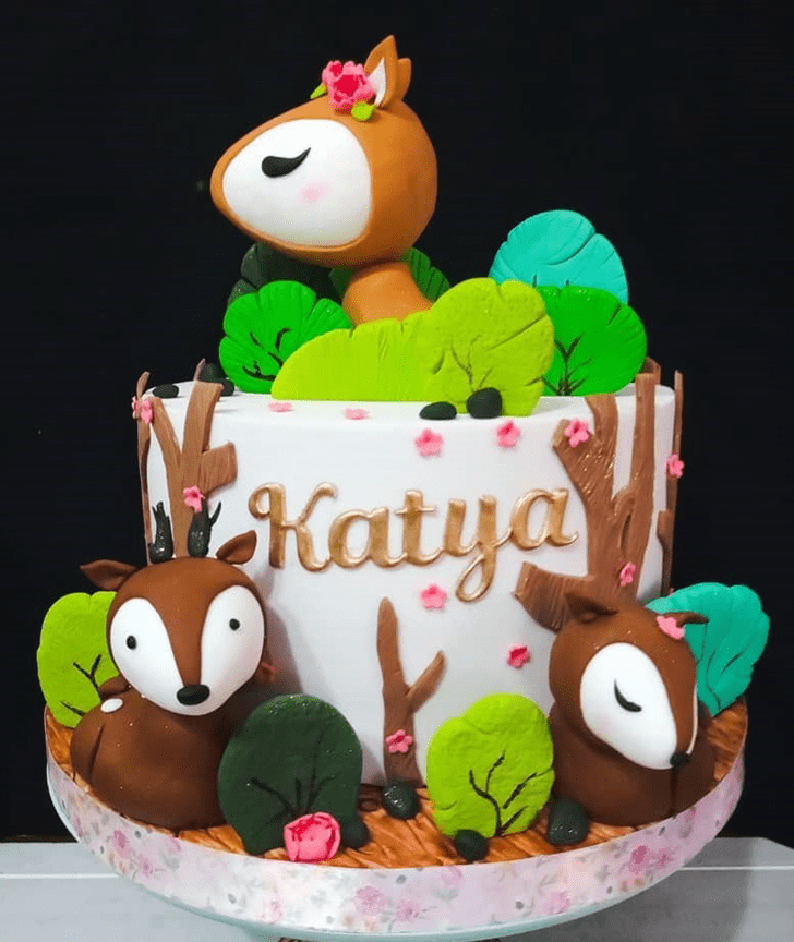 Beauteous Forest Cake