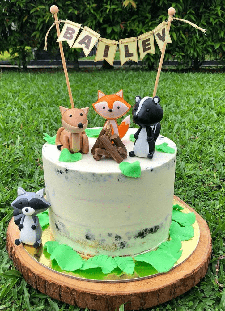 Bewitching Forest Cake