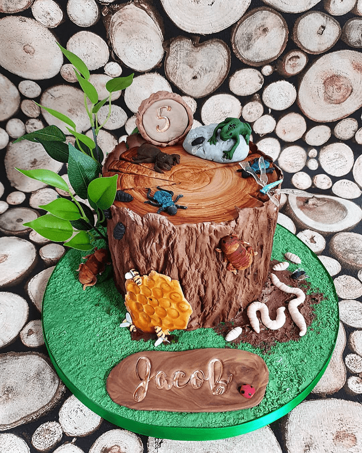 Charming Forest Cake