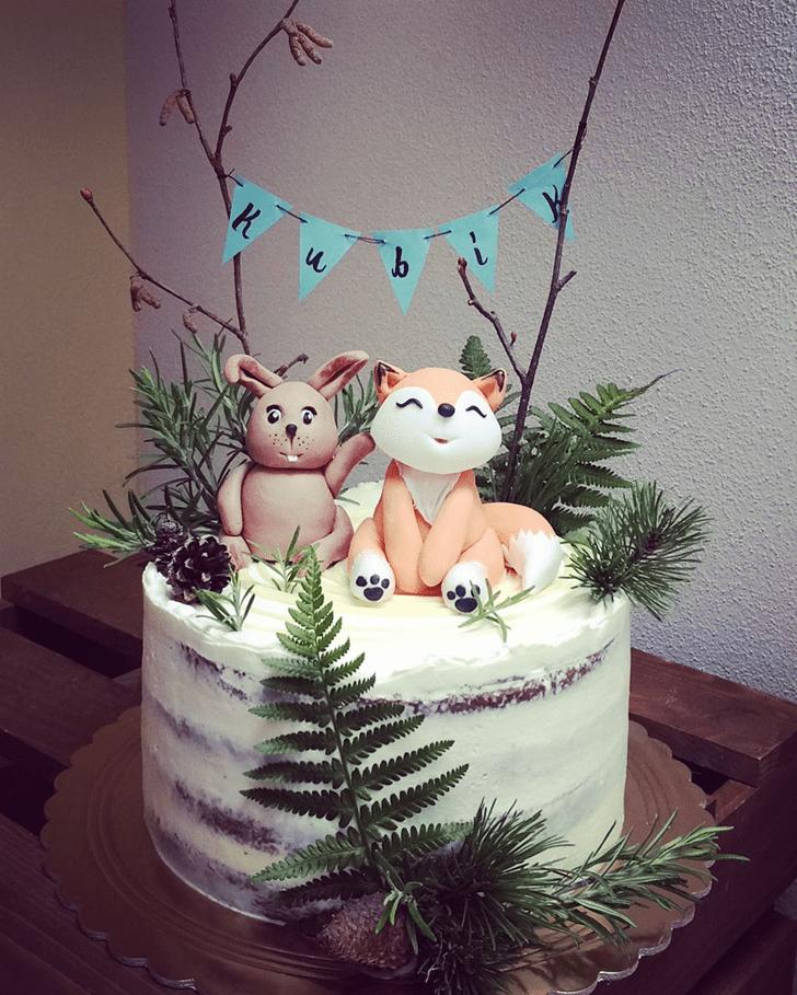 Alluring Fox Cake