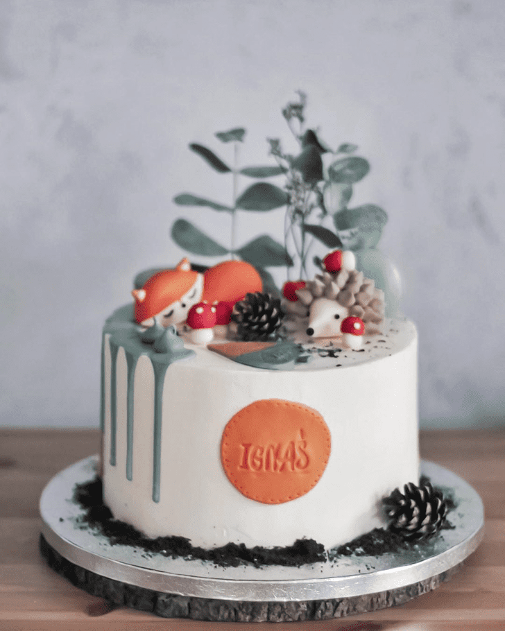 Angelic Fox Cake