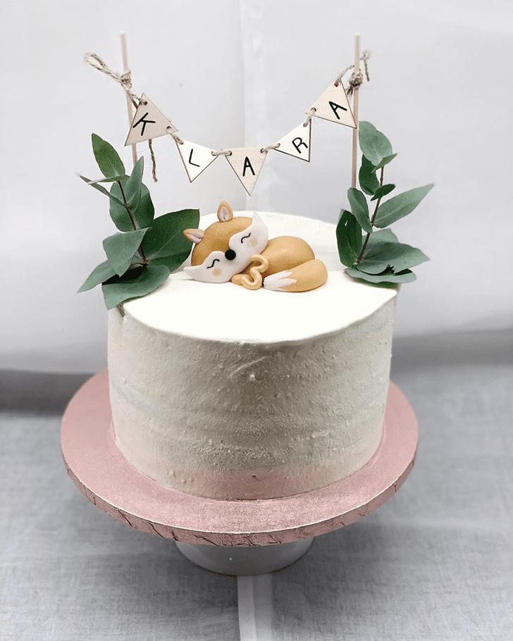 Beauteous Fox Cake