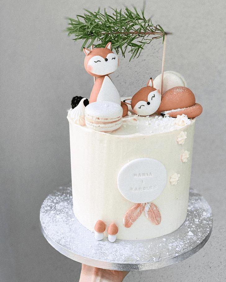 Captivating Fox Cake