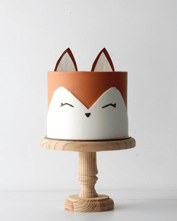 Charming Fox Cake