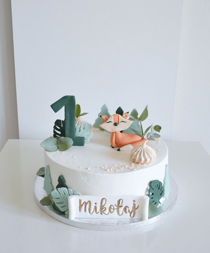 Comely Fox Cake