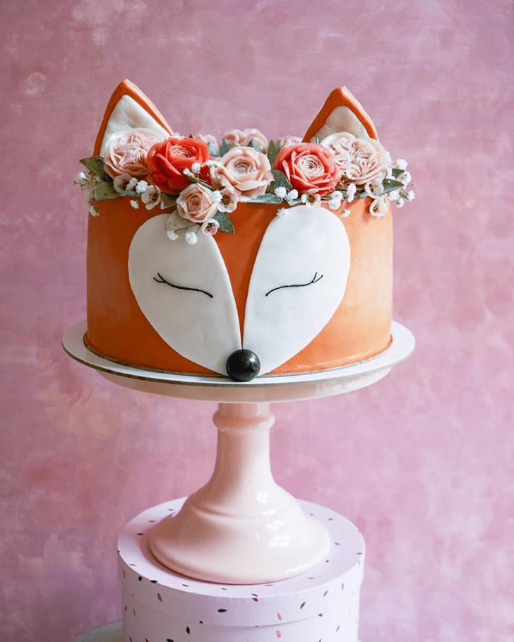 Dazzling Fox Cake