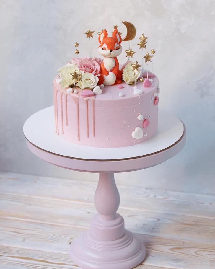 Delightful Fox Cake